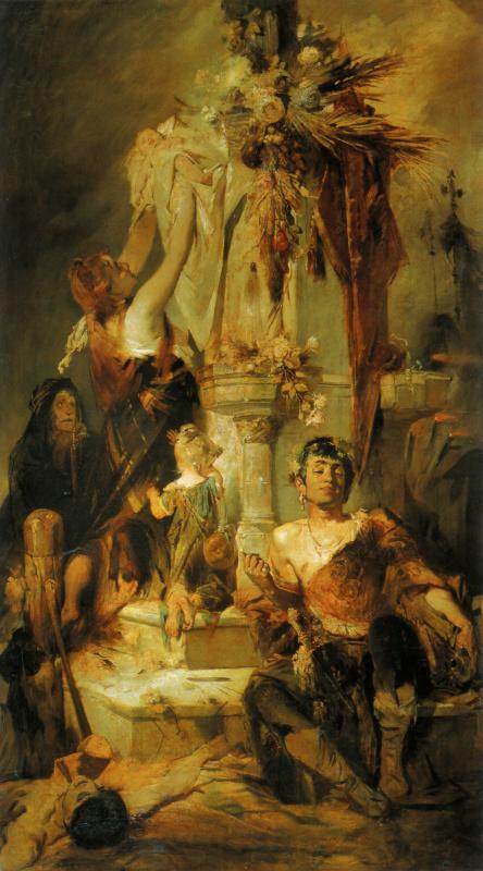 Вэтих произведениях Макарта можно проследить истоки творческого гения Альфонса Мухи, вчастности—