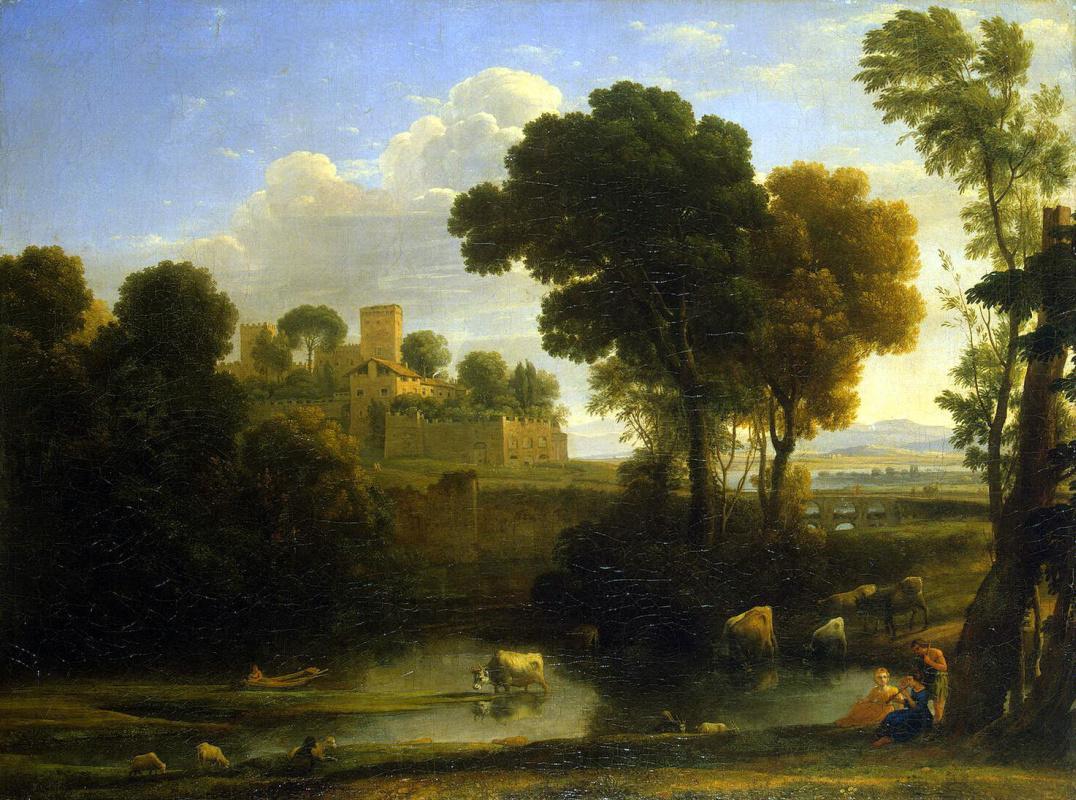 Желле Клод. Итальянский пейзаж