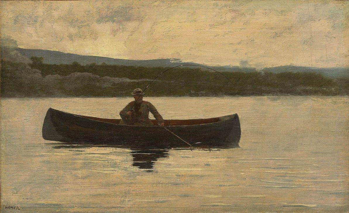 Winslow Homer. Fish fish