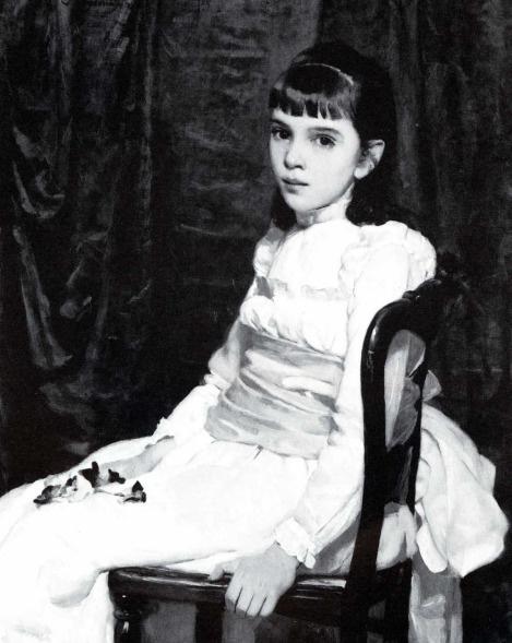 Сесилия Бо. Маленькая девочка