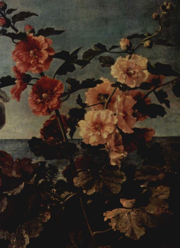 Кристиан Беренц. Цветы и фрукты. Деталь