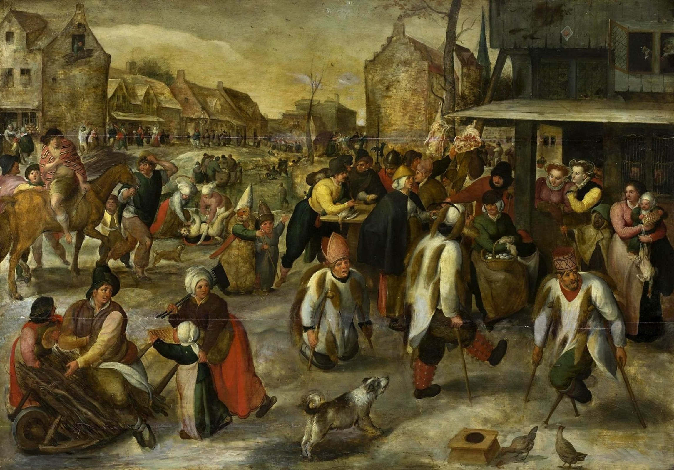 Carnival in the village by Martin van Cleve: History, Analysis & Facts