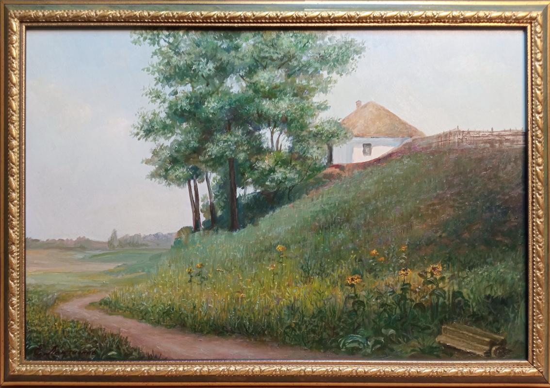 Eugene Gennadievich Laktionov. Окраина села