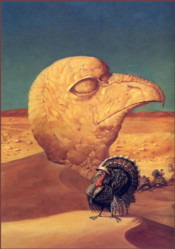 Барнард Брин. Голова птицы