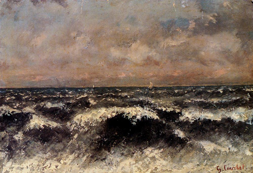 Гюстав Курбе. Морской вид