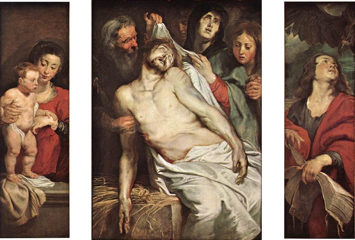 Питер Пауль Рубенс. Оплакивание Христа