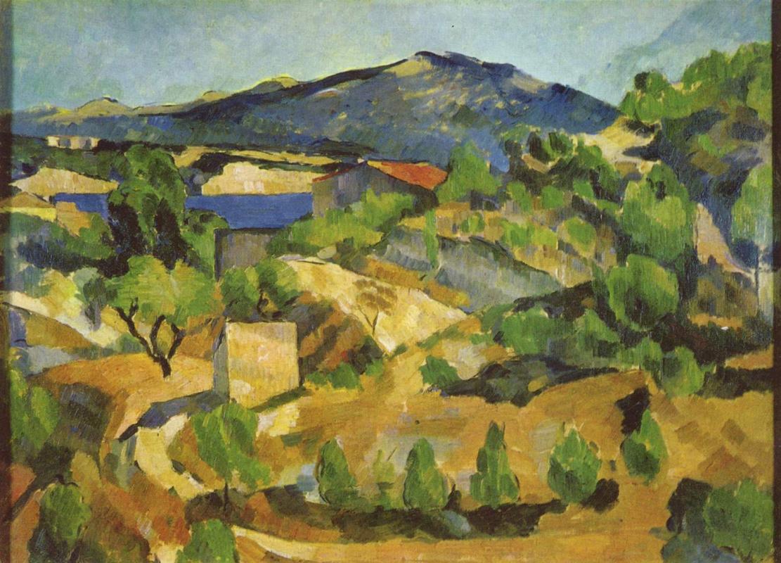 Поль Сезанн. Горы во французском Провансе