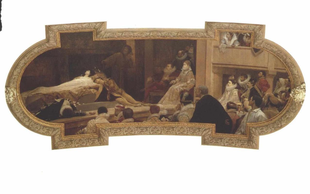 Gustav Klimt. The globe theatre in London