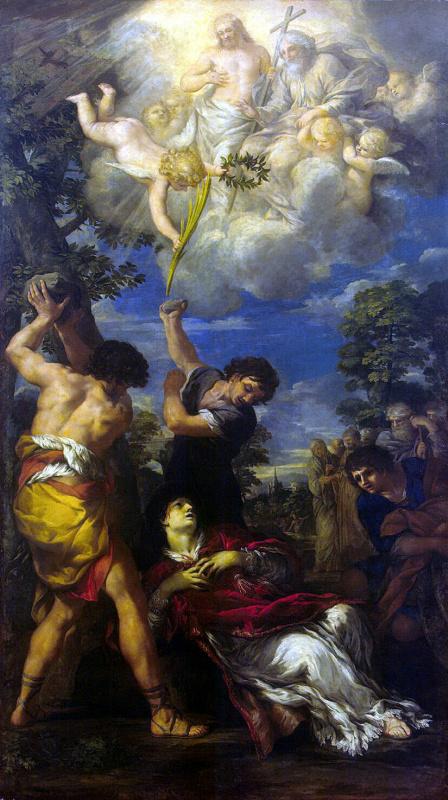 Пьетро Да Кортона. Мученичество Святого Стефана