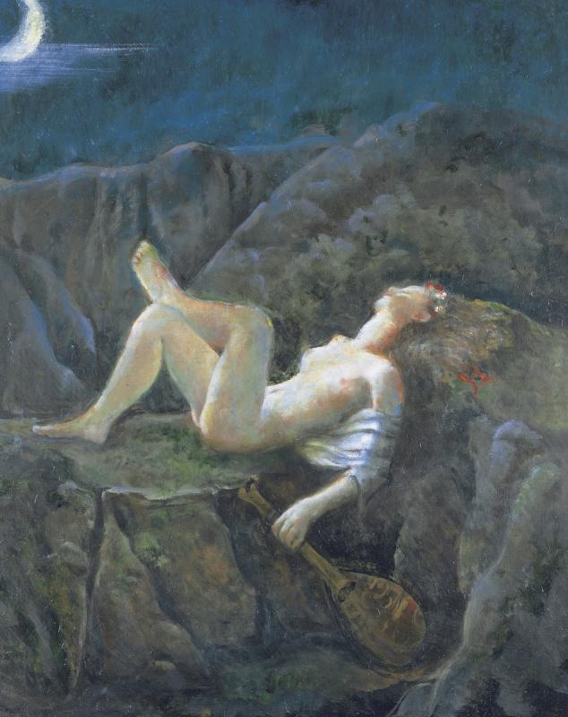 Бальтюс (Бальтазар Клоссовски де Рола). Сон в летнюю ночь