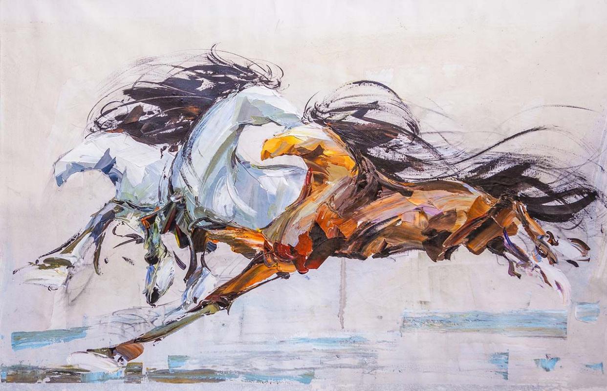 Jose Rodriguez. Horses N1