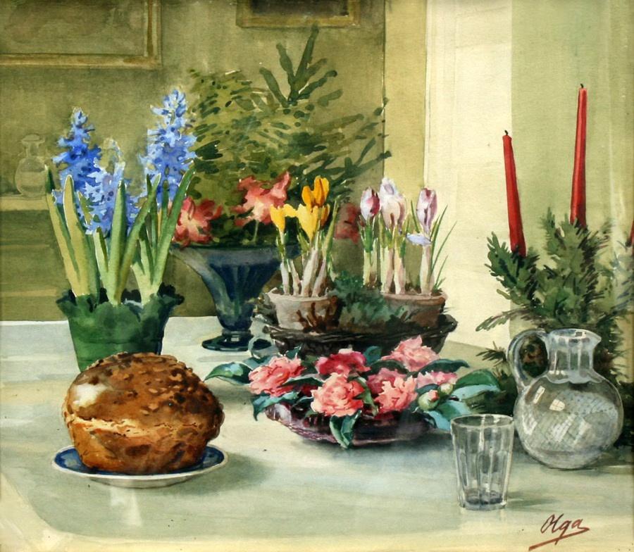 Olga Alexandrovna Romanova. Easter