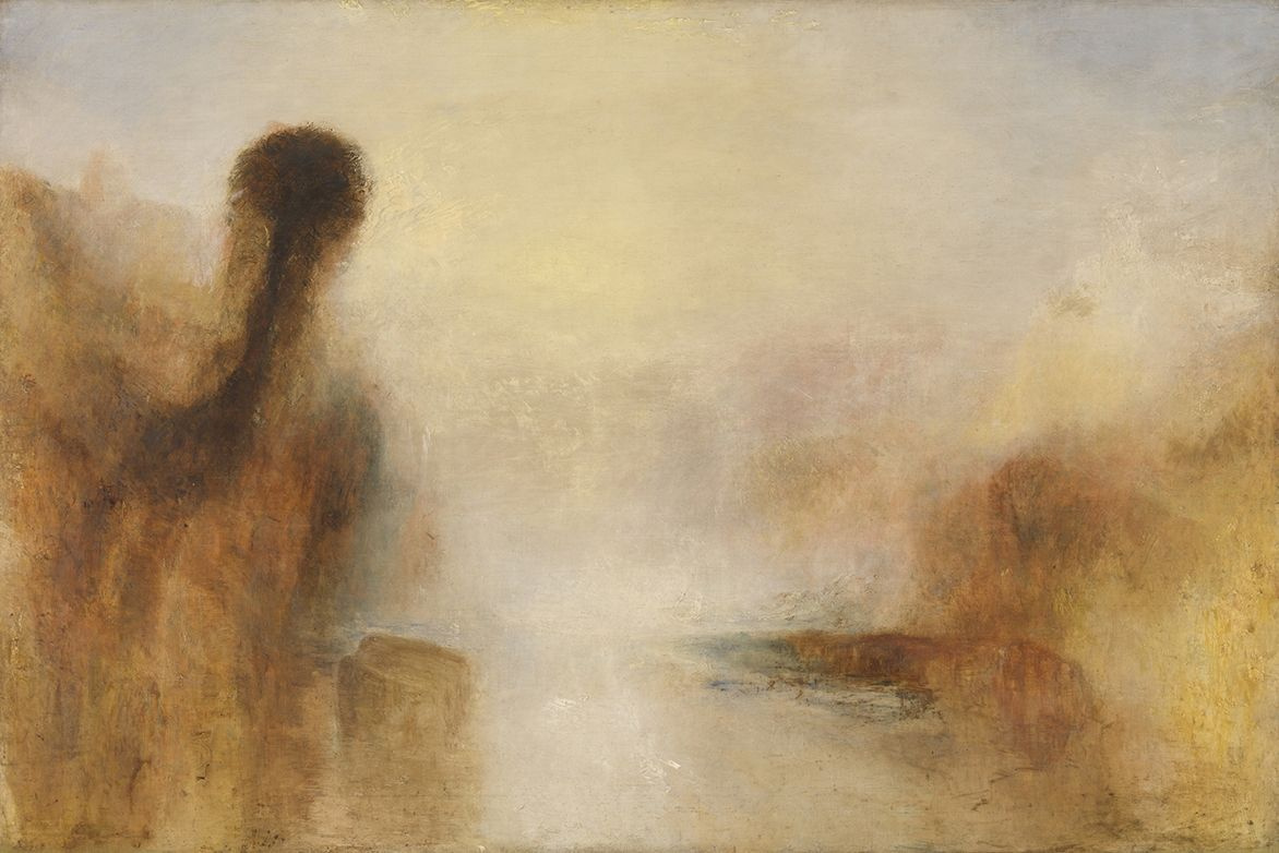 Joseph Mallord William Turner. Landscape with water