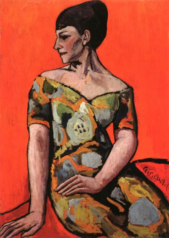 Портрет художницы Эмили Шарми