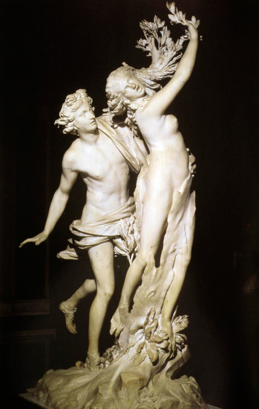 Джованни Лоренцо Бернини. Аполлон и Дафна