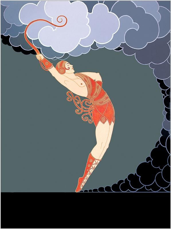 "Romain Tirtoff. Dancer. A Series Of ""Theatre"""
