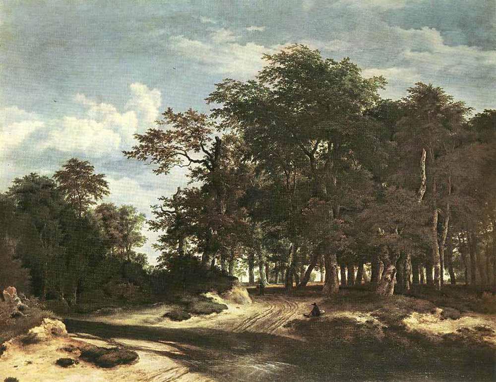 Якоб Исаакс ван Рейсдал. Большой лес