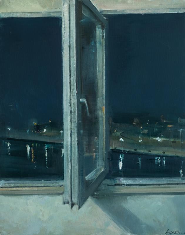 Semen Agroskin. Observation 5. Window