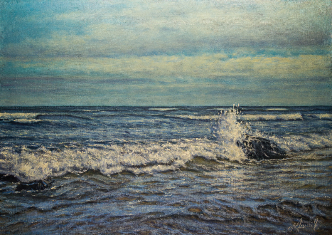 Valery Levchenko. No. 466 Seascape.