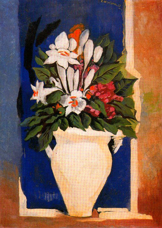 Исмаэль Гонсалес де ла Серна. Ваза с цветами