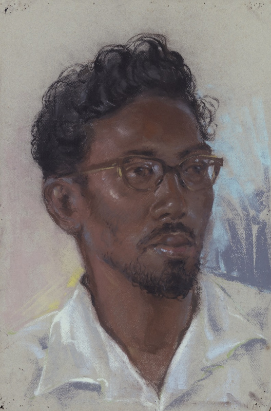 [Not titled] (Portrait of a Malay Man)