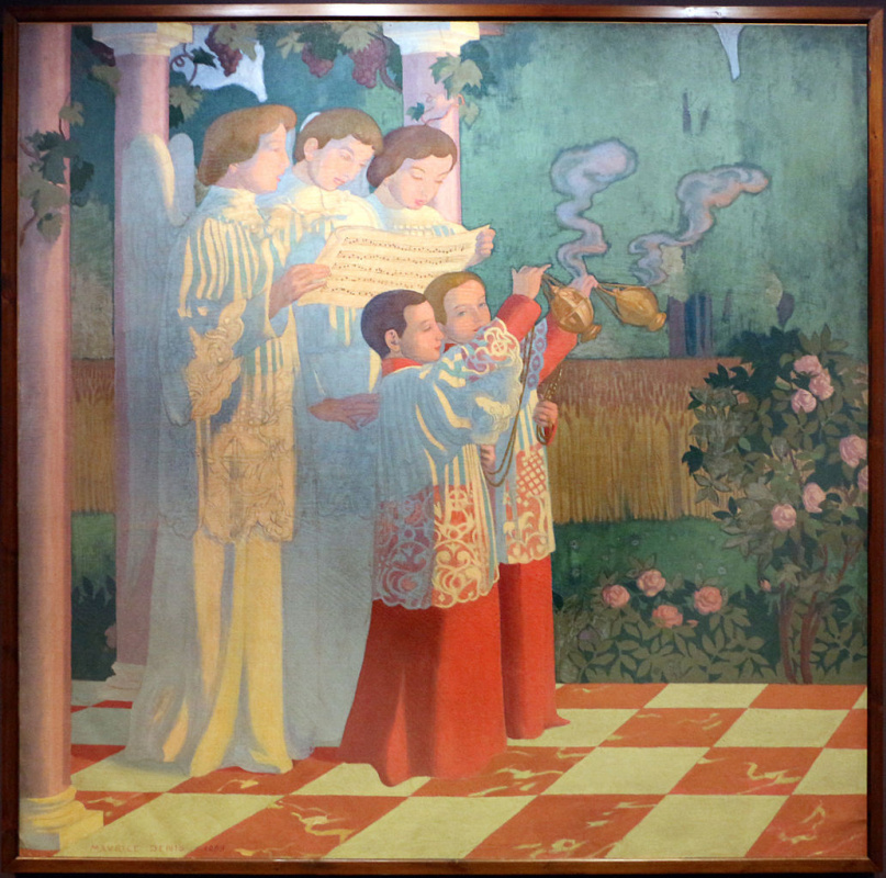 Maurice Denis. The exaltation of the Holy cross and the celebration of the sacrifice of the mass