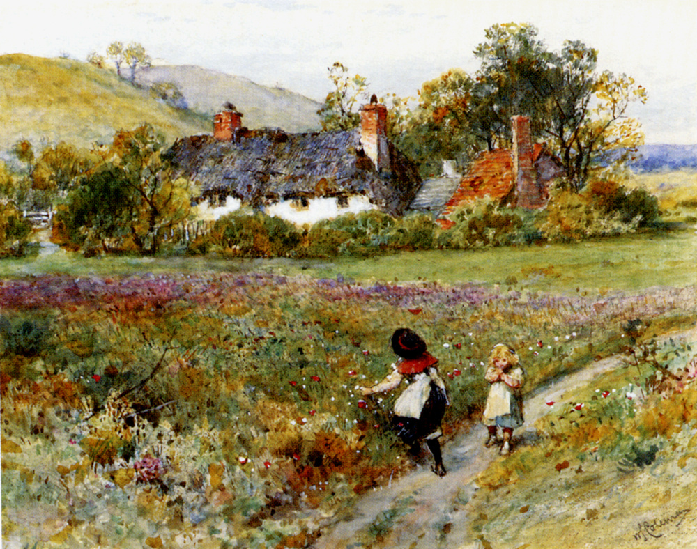William Stephen Coleman. The children gather flowers