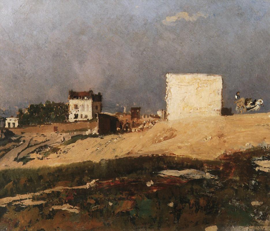 Ilya Efimovich Repin. Paris. Montmartre