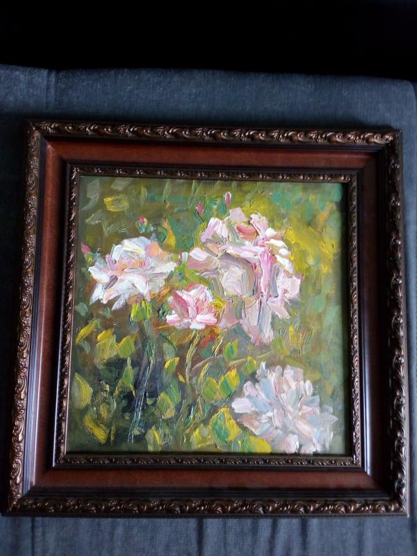 Natalie Nikolaevna Oreshnikova. Roses