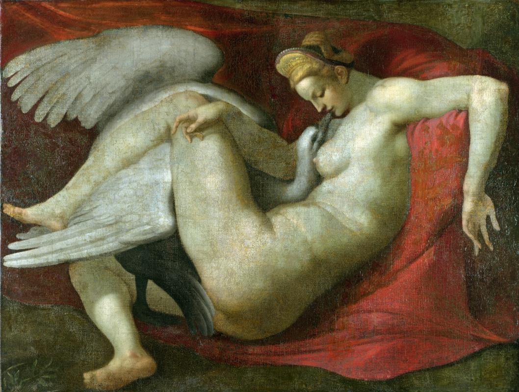 Микеланджело После. Леда и лебедь
