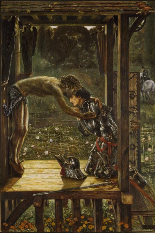Edward Coley Burne-Jones. Gracious knight