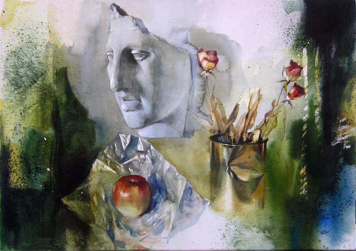 Alexander Karpan. Still life with split cast