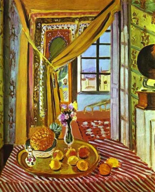 Henri Matisse. Interior with phonograph