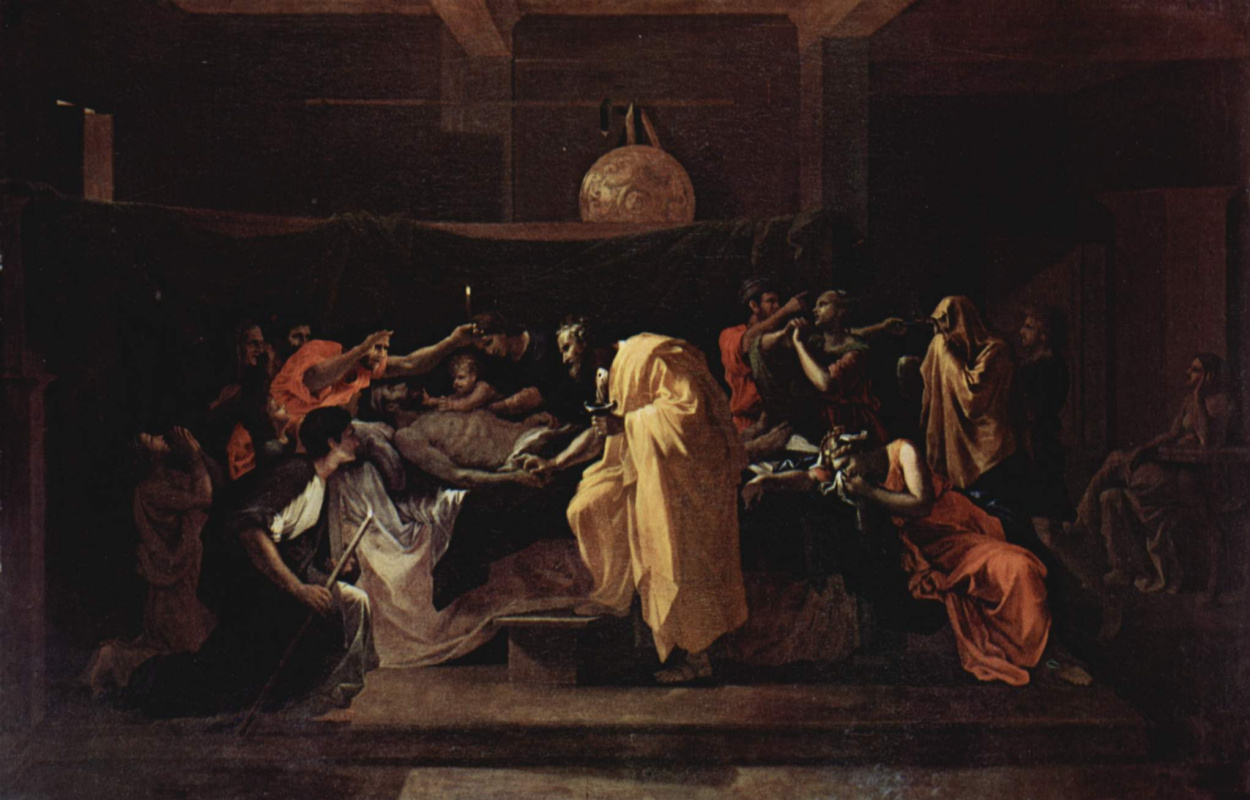 Nicolas Poussin. The last anointing