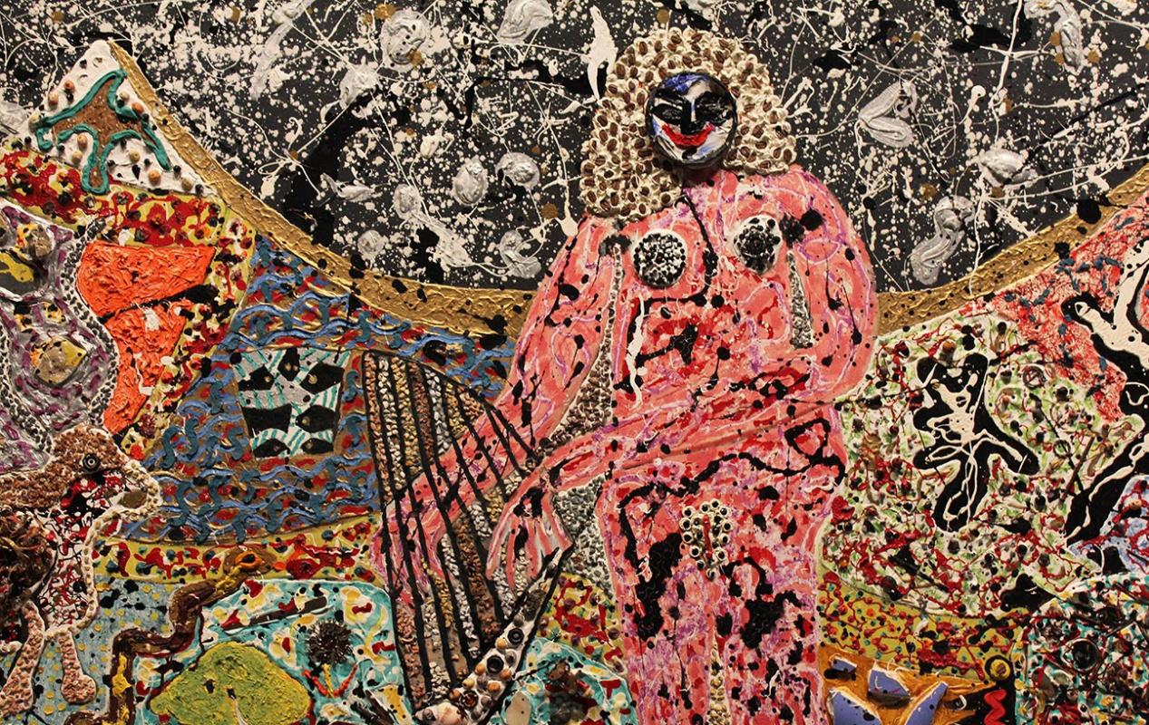 Niki de Saint Phalle. Composition No. 5