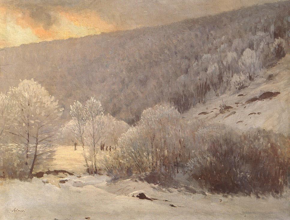 Pál Szinyei Merse. Winter