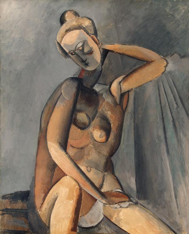 Пабло Пикассо. Нагая женщина