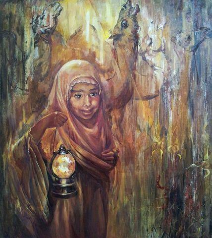 Suray Muradovna Akmuradova. Take me to the tale
