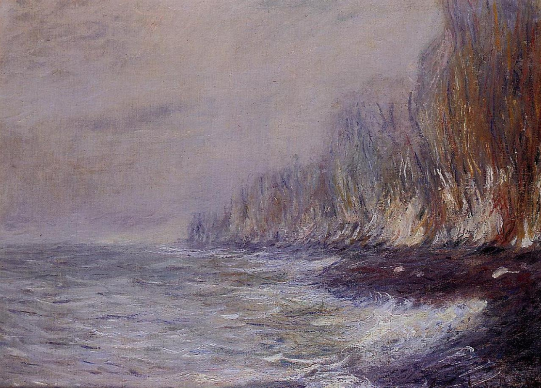 Claude Monet. The fog effect in the vicinity of Dieppe