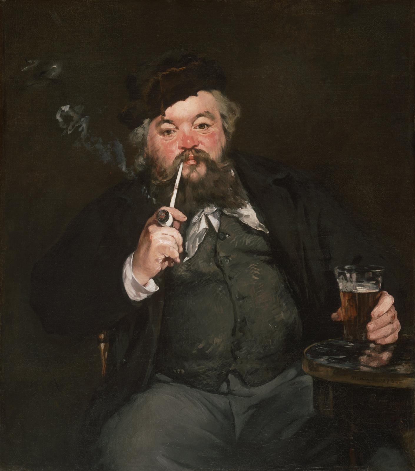 Эдуар Мане. Хороший стакан пива