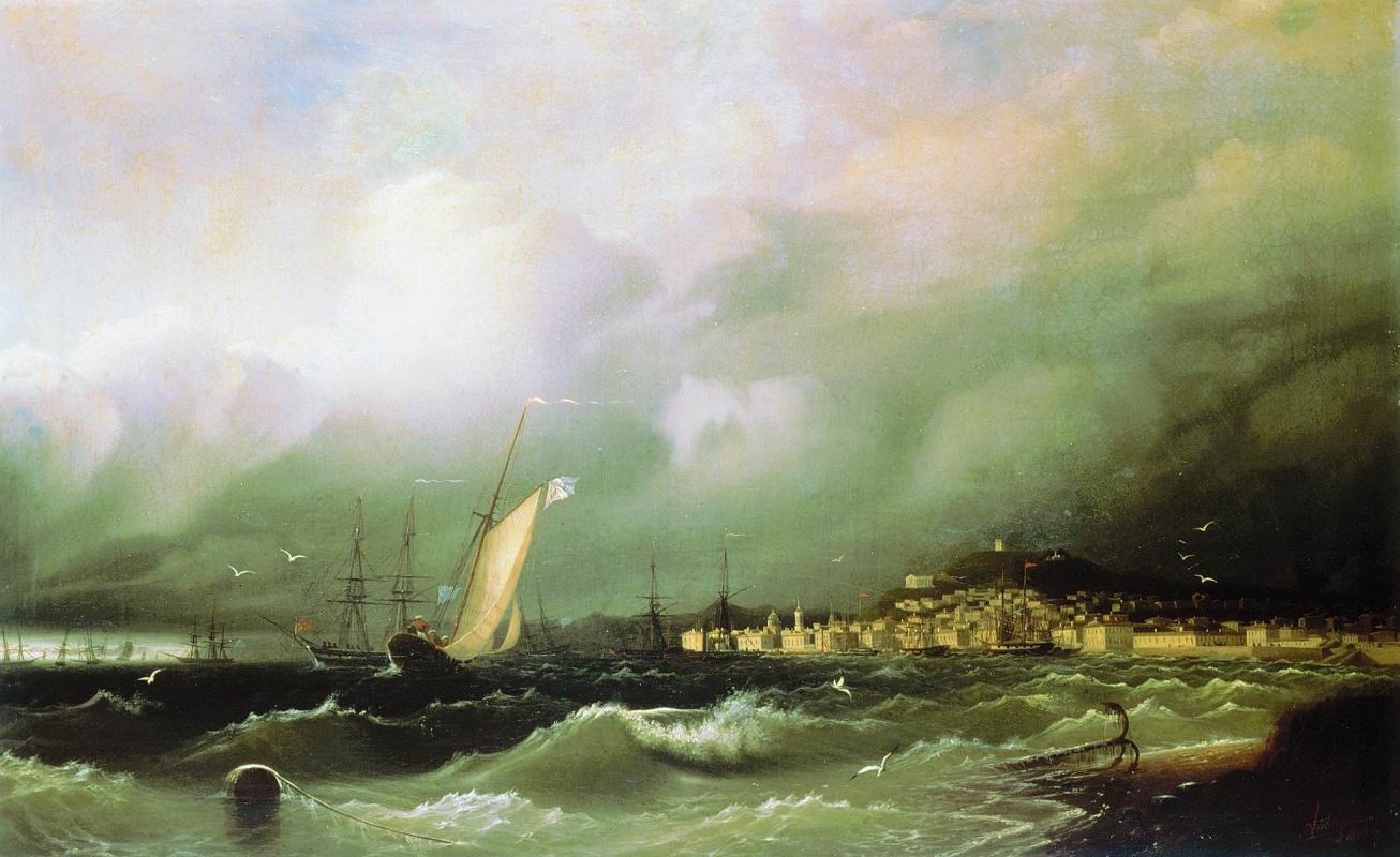 Ivan Aivazovsky. Old Feodosiya