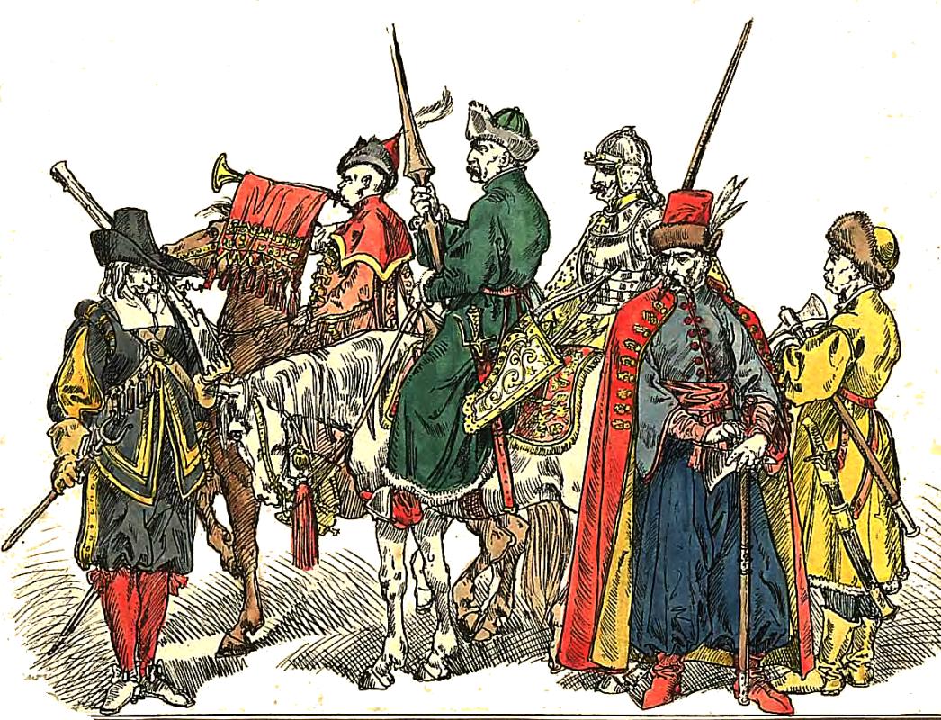 Ян Матейко. Польские солдаты 1633 - 1668