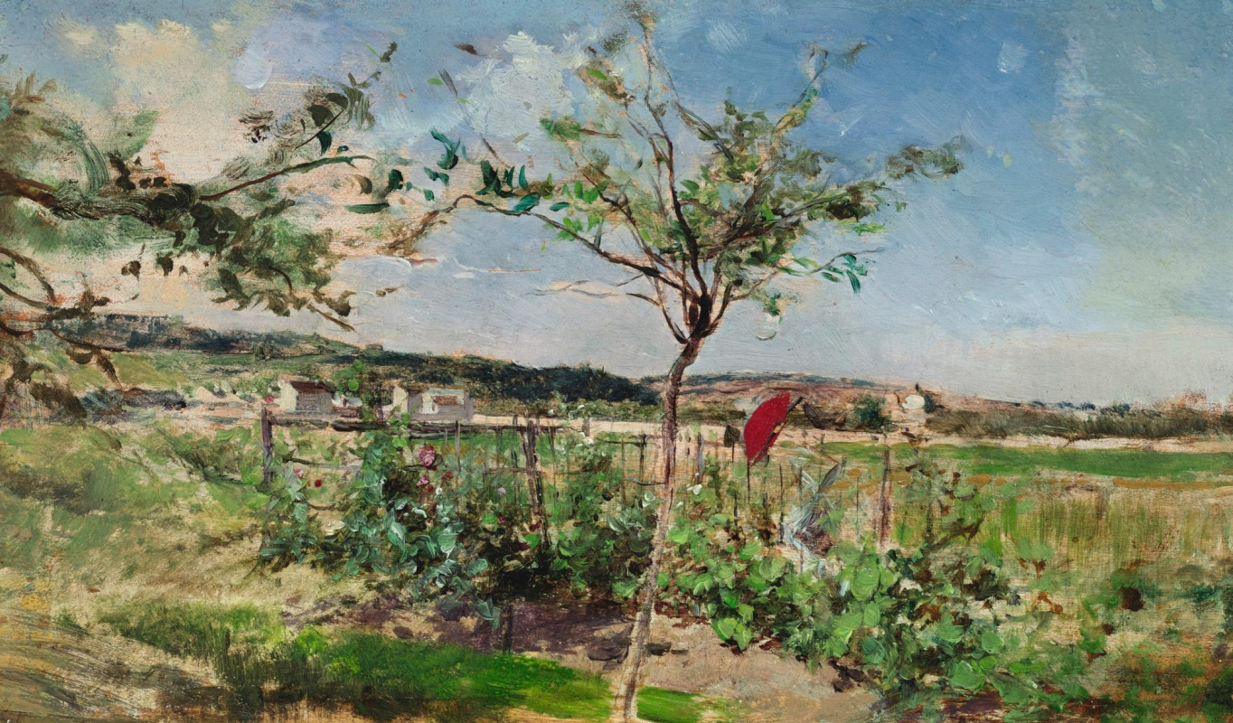 Giovanni Boldini. Summer meadow
