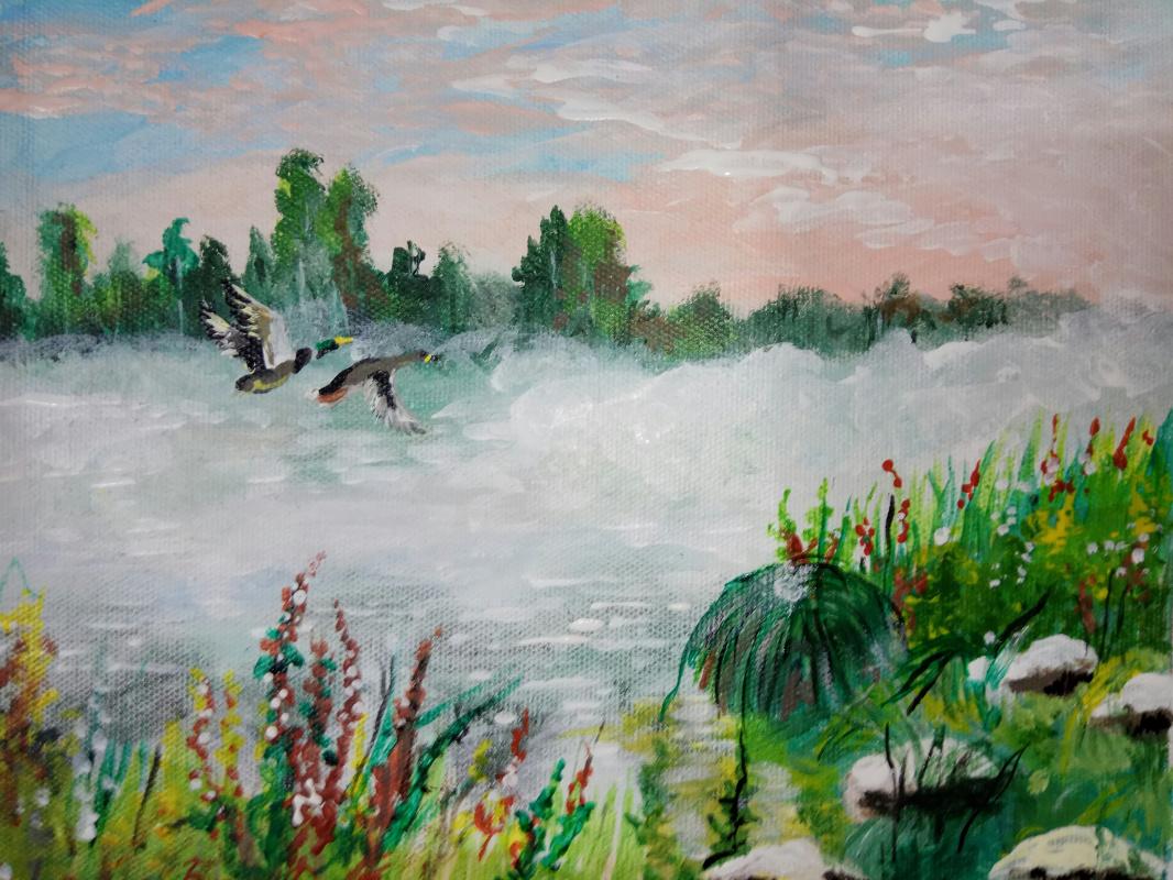 Дмитрий Юрьевич Буянов. Ducks on the pond