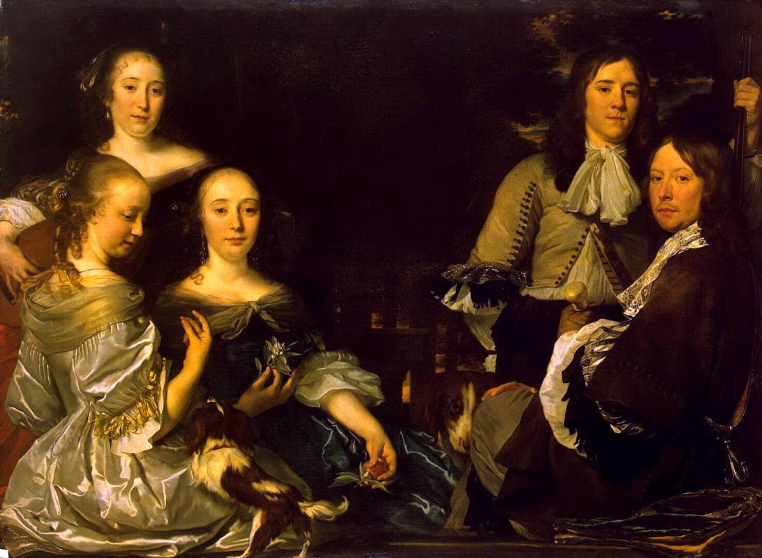 Абрахам ван ден Темпел. Семейный портрет
