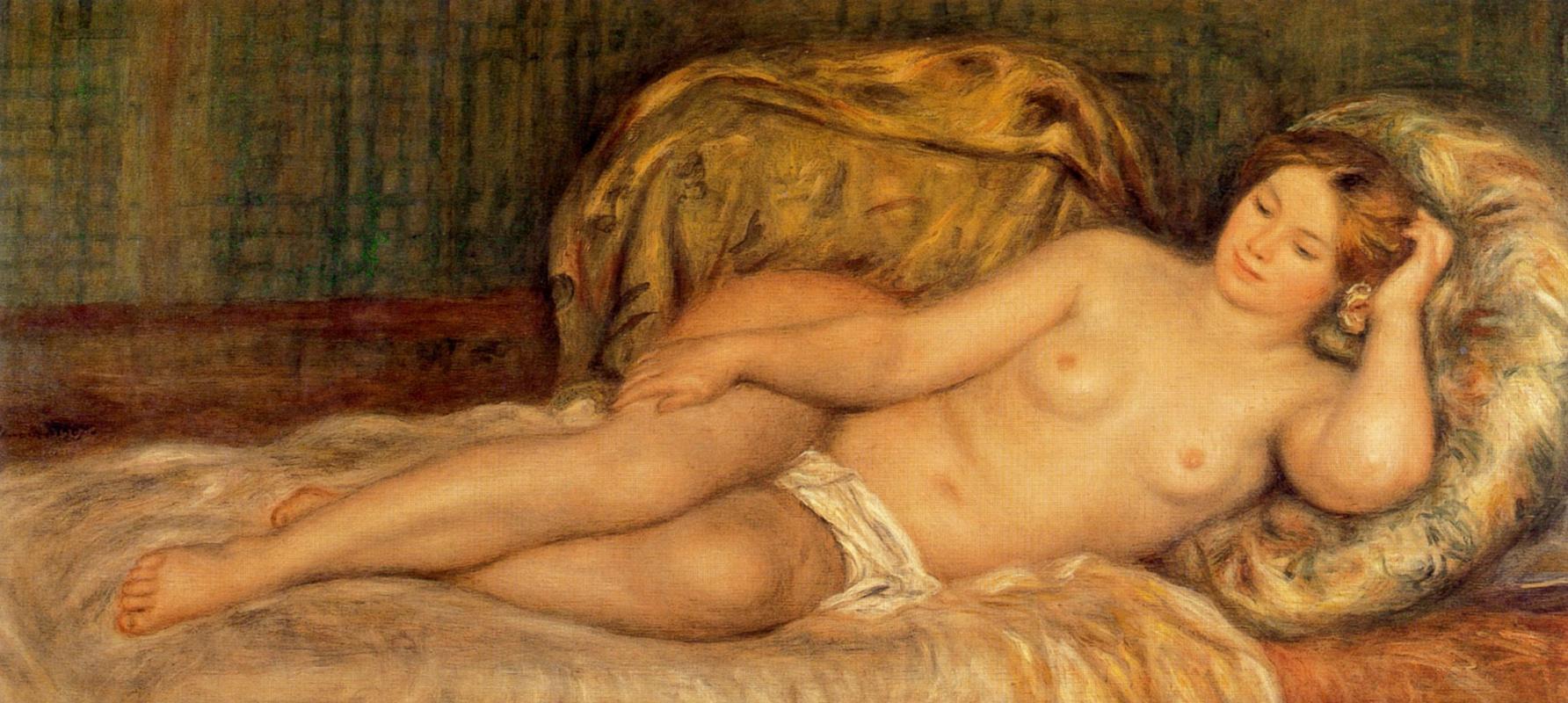 Pierre-Auguste Renoir. Great Nude