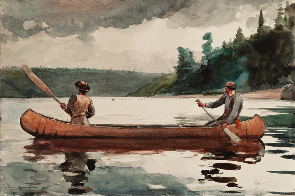 Winslow Homer. Young ducks