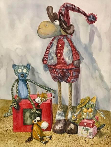 Larissa Lukaneva. Mother's toys