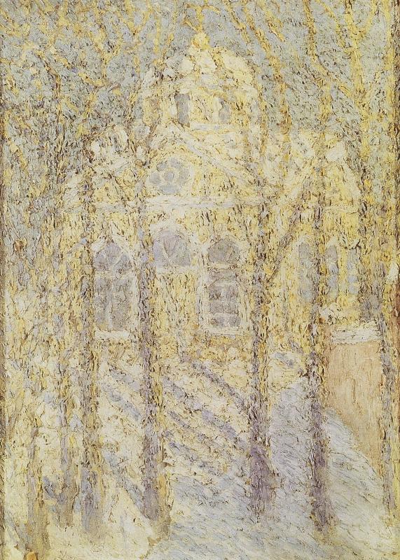 Kazimir Malevich. Church