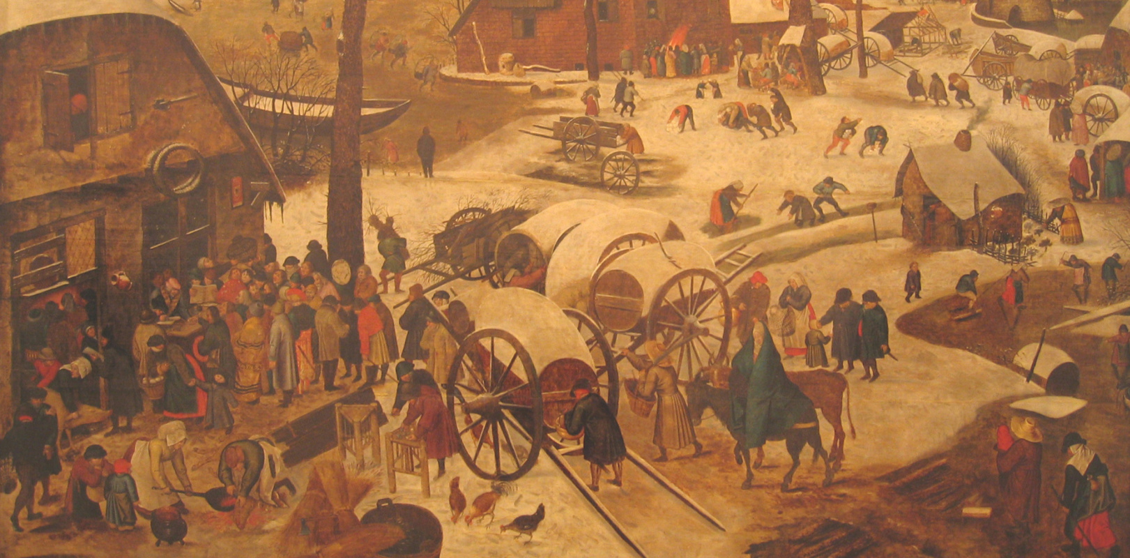Peter Brueghel the Younger. The payment of tithing